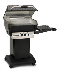 Broilmaster H3X Deluxe Gas Grill with Stainless Steel Grids Liquid Propane