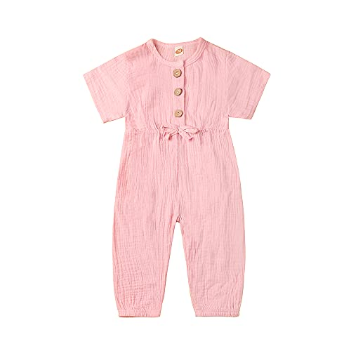 toddler rompers for girls 2t-4t photo 2-3t pink summer jumpsuits outfits overalls clothes