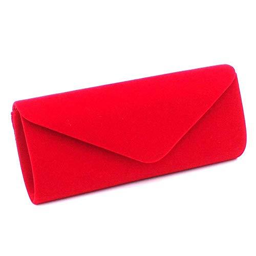 Simanli Unique Rouge Femme Pochette Beige Taille pour rwqaT6r