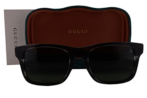 Gucci GG0008S Sunglasses Marble Gray w/Gray Green Lens 004 GG - Gucci 2017 New Glasses