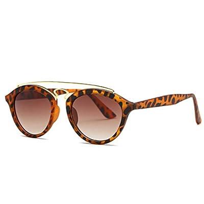 NEW Tortoise Shell Gatsby Sunglasses Women Vintage Round 90S Sun Glasses Shades 92