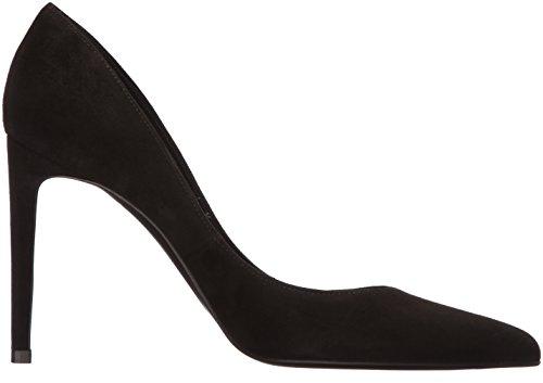 Stuart Weitzman Women's Curvia Pump Black Seda Suede recommend cheap online release dates sale online MjQSf