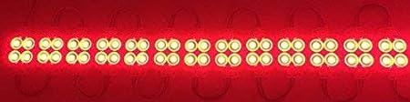 Pearlight 100 Pcs a pack Rectangular Waterproof RGB Injection Module DC 12V 20 Pcs Per String