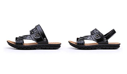Mens Stylish Summer Sandals Beach Sandels Black Cool Nedons Skidproof d1BqPCd