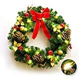 60 Outdoor Lighted Wreath in US - 9
