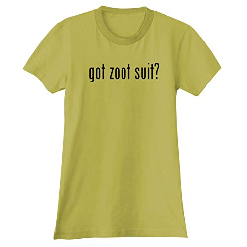 The Town Butler got Zoot Suit? - A Soft & Comfortable Women's Junior Cut T-Shirt, Yellow, Large