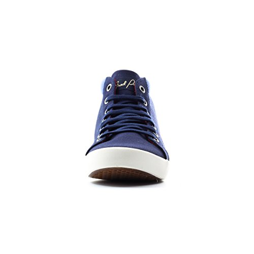 Fred Perry Riley Canvas Blauw 5.5 Sneakers Voor Dames