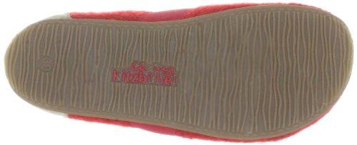 Living Kitzbühel T-Modell uni 1446 - Zapatillas de casa para niños Rojo (Rot (rot 350))