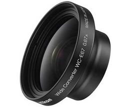 Nikon WC-E67 Wide-Angle Converter Requires UR-E20 Adapter (Nikon F5 F100)