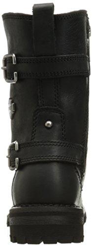 Womens Black Balsa Harley Leather Boots Davidson 0wZpXx5