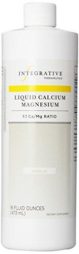 Integrative Therapeutics liquide de calcium / magnésium, vanillé, 16 Fl. Oz.