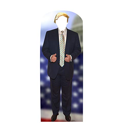 Advanced Graphics Donald Trump Hair Stand-in Life Size