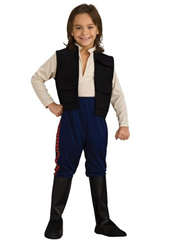 Han Solo Costumes For Kids - Deluxe Kids Star Wars Han Solo Costume - Child Medium