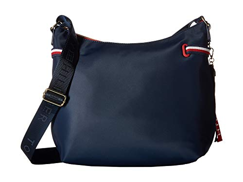 Tommy Hilfiger Women's Shelly Hobo Tommy Navy One Size