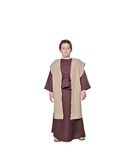 Underwraps Men's Joseph, Brown/Tan, Medium (Bible Character Costumes For Adults)