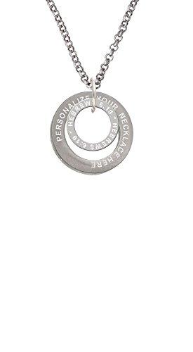 Hebrews 6:9 Eternity Ring Custom Engraved Affirmation Ring N