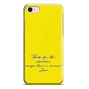Loud Universe Love Quote movie Up iPhone 8 Case Up The movie Poster iPhone 8 Cover with 3d Wrap around Edges