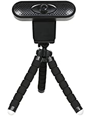 Decdeal Full HD 1080P Webcam Built-in Microphone for Laptop or Desktop with Tripod