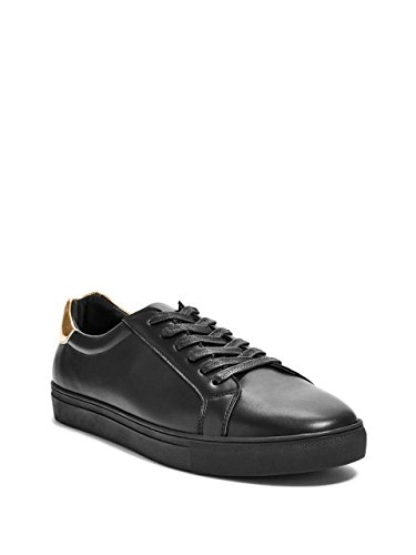 x-Leather Low-Top Sneakers (Guess Leather Sneakers)