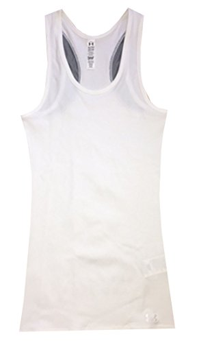 Under Armour Women Victory HeatGear Logo Tank Top (XL, (Victory Womens Tank)
