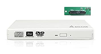 Salcar-Carcasa para unidades de almacenamiento externas SlimLine SATA USB 2.0 (Super Drive Caddy Box externo) Plug & Play para unidades de ...