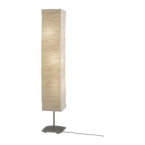 Ikea Orgel Vreten Floor Lamp, Natural, steel - bedroomdesign.us