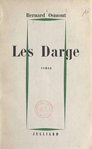 Les Darge French Edition Kindle Edition By Bernard