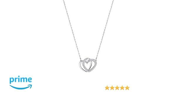 26bb1f74f Amazon.com: Swarovski Jewelry Dear Necklace, Medium, White: Jewelry