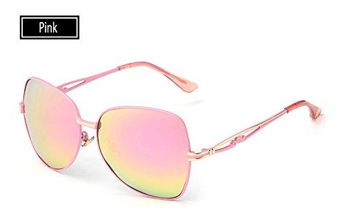 TL Hombre Rosa polarizadas de para Mujeres Gafas Mujeres Sombra de pink Sol UV400 Gafas Sol Sunglasses de Gafas de Verano Gafas raqHS7r