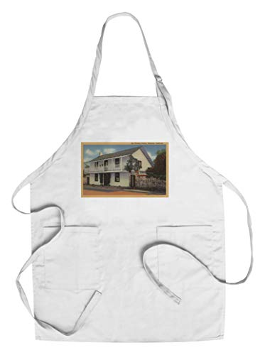 Monterey, California View of Old Whaling Station (Cotton/Polyester Chef's Apron)