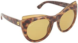 Gucci Havana Brown Cat Eye Sunglasses