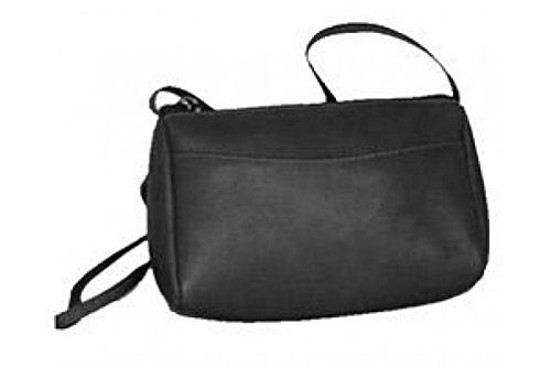 David King & Co. Top Zip Mini Bag 501, Black, One - Handbag King David Zip Top