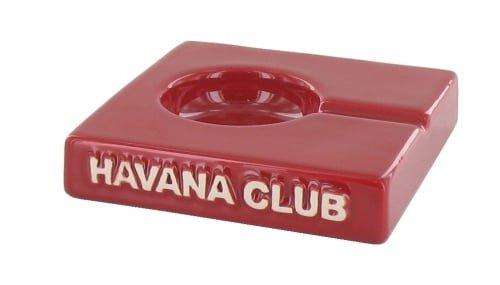 - Havana Club red solito ceramic cigar ash tray