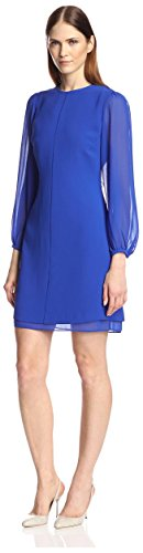 Buy electric blue shift dress - 6