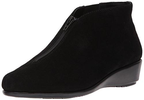 Aerosoles Women's Allowance Ankle Boot, Black Suede, 8 M US
