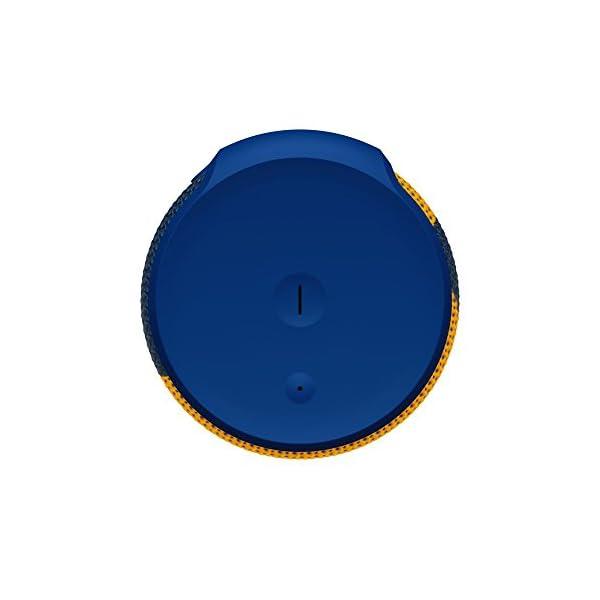 Enceinte MEGABOOM McLaren Sans fil/Bluetooth (Étanche et résistante aux chocs) - MCL33 - Bleu/Orange 5