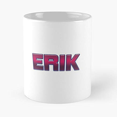 - Erik Yourself Your Friend Funny Floral Coffee Mugs Gifts