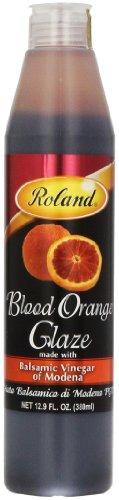 Roland Foods Balsamic Glaze, Blood Orange, 12.9 Ounce