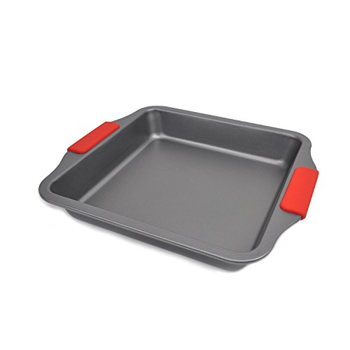 Evelyne GMT-10276 Home Kitchen Bakeware Square Cake Baking Pan 11'' x 10'' by Evelyne