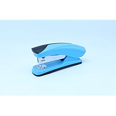 M&G Happy Office Style Stapler,20 Sheets Capacity, 24/6 Staples,Full Strip,Depth 50mm(ABS92664) (Blue)