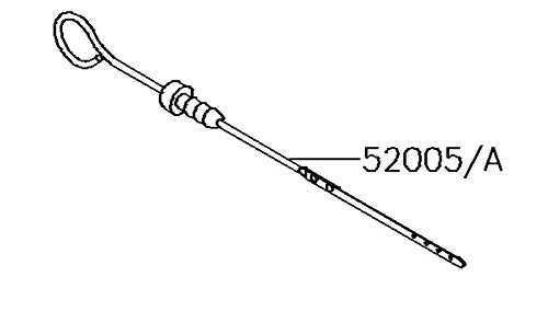 (Kawasaki Mule 4000/4010 (2015-2019) Oil Gauge/Dipstick (Gas Engines) NEW OEM 52005-0747)