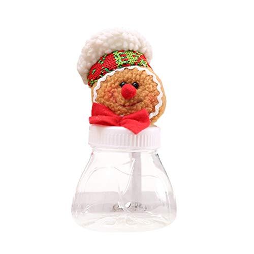 SUPVOX Caja de Dulces de Navidad de Hombre de Pan de Jengibre Decoración de Mesa (niño)