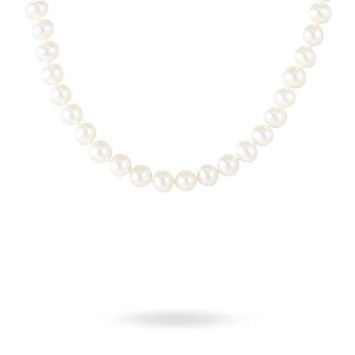 HISTOIRE D'OR - Collier Or Jaune Perle de Culture - Femme - Or jaune 375/1000