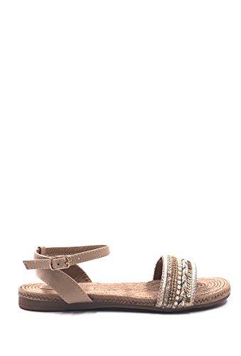 CHIC NANA - Zapatos de Punta Descubierta Mujer Beige