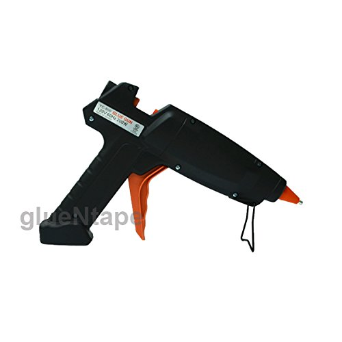 200 watt Hot Melt Glue Gun +12.5 lbs, All Purpose Sticks 1/2 in x 10 in (7/16 inch x 10 inch) by GlueNTape