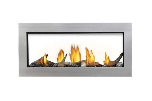Acies 38 See Thru Direct Vent Natural Gas Fireplace - Package 1