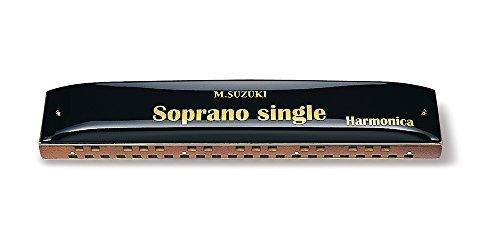 Suzuki SS-37 Soprano Single 37-Hole Harmonica, Key of C (Suzuki Harp Ensemble)