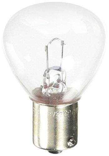Base Clear Miniature Light Bulb (Satco S3624 6-8V SC Bayonet Base 24-Watt RP11 Light Bulb, Clear)