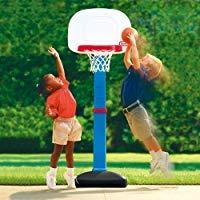 こども用 バスケットゴール ボール付 室内 屋外兼用 リトルタイクス社製 ちびっこバスケットゴール B005MWUNGC