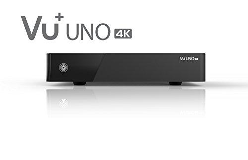 VU+ Digitalreceiver DVB-S Uno 4K UHD 2x DVB-S2 FBC